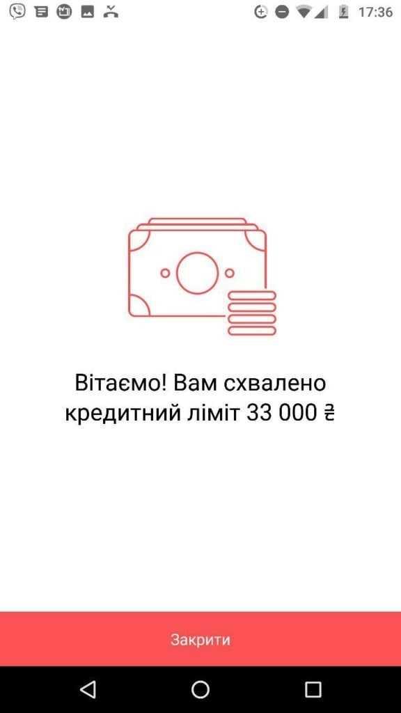 Кредитний ліміт Монобанк
