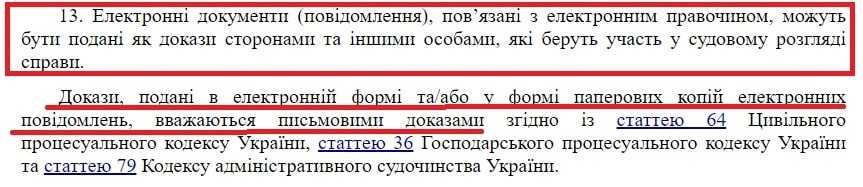 Закон України про електронну комерцію