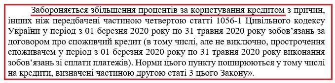 Підвищення процентів по Закону 3220
