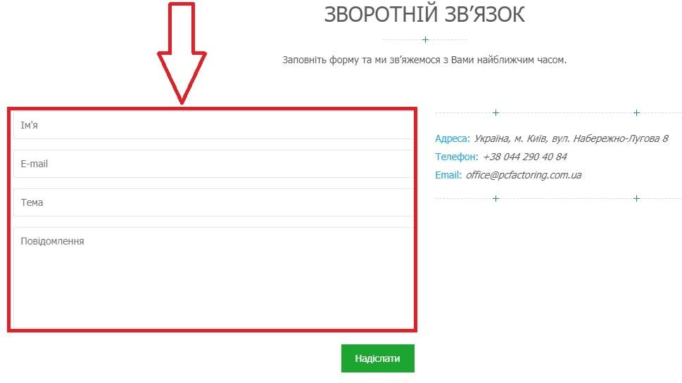 Контакти Профіт Капітал