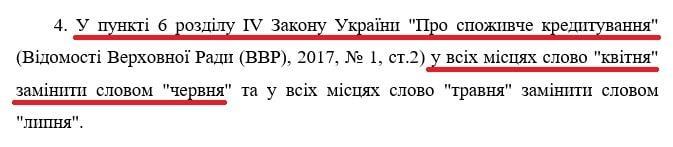 Закон 3329-Д про кредитні канікули