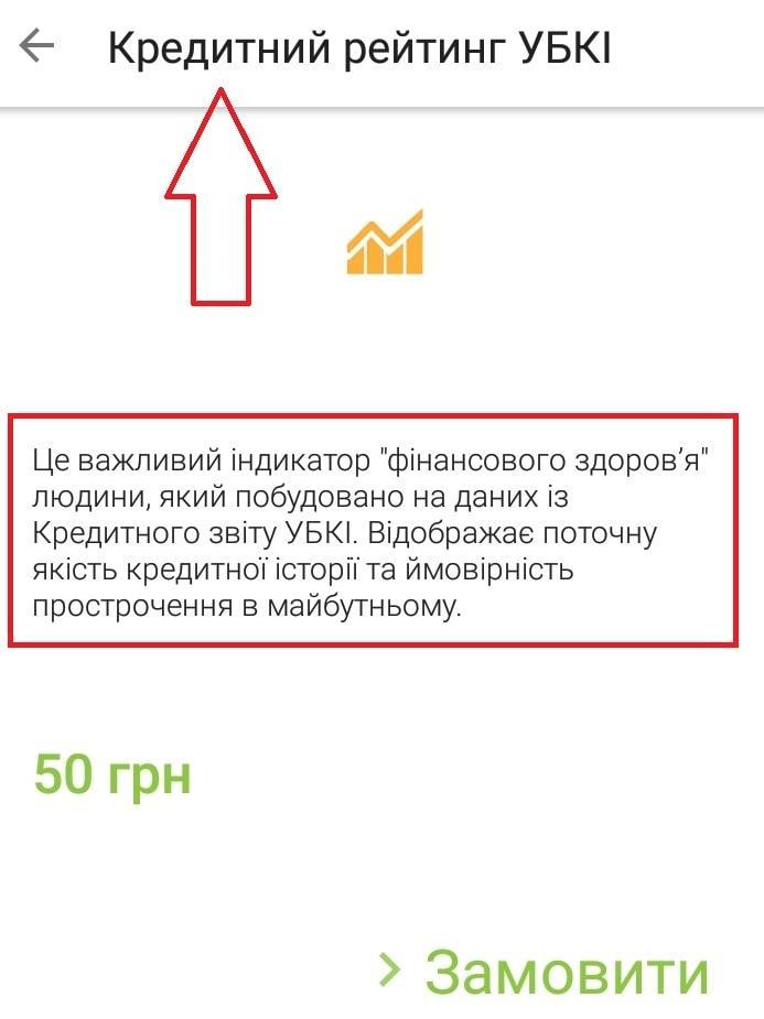 Получить кредитный рейтинг УБКИ