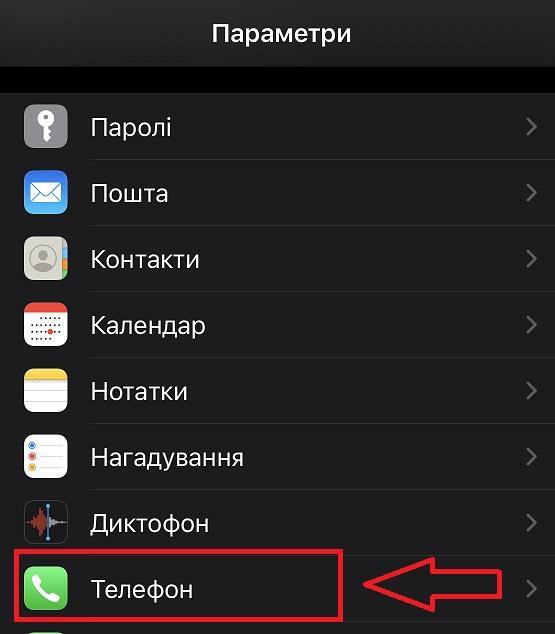 Блокировка звонков айфон